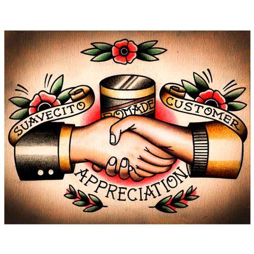 PLACA-DECORATIVA-PARA-BARBEARIAS-QUYEN-DIHN--SUAVECITO-POMADE-CUSTOMER-APPRECIATION-----------------