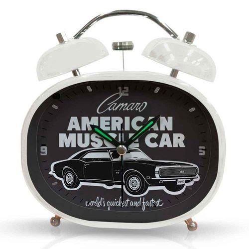 Relogio-Despertador-Chevrolet-Retro-----------------------------------------------------------------