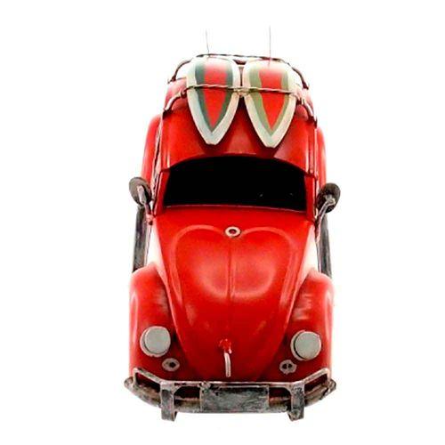 Miniatura-Fusca-Vermelho-Pranchas-de-Surf-----------------------------------------------------------