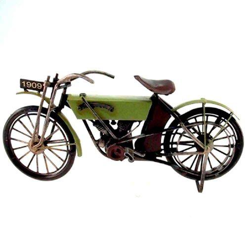 Miniatura-Motocicleta-Harley-Davidson-1909----------------------------------------------------------
