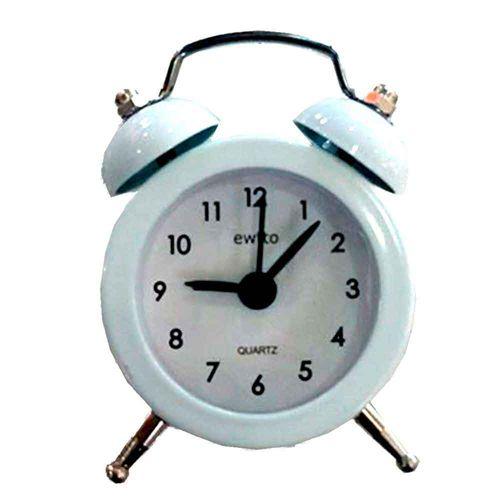 Mini-Relogio-Despertador-Retro-Branco---------------------------------------------------------------
