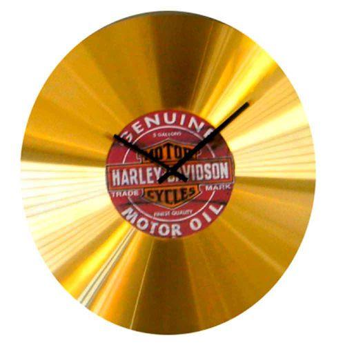 Relogio-Disco-de-Ouro-Harley-Davidson---------------------------------------------------------------