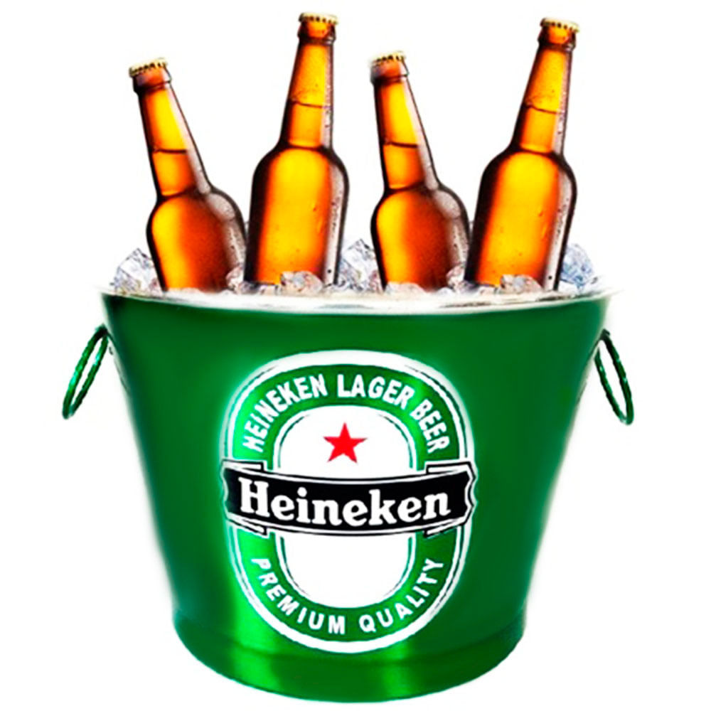 Fabuloso Balde De Cerveja Heineken 7,5l - 3610 - versareanosdourados ZC35