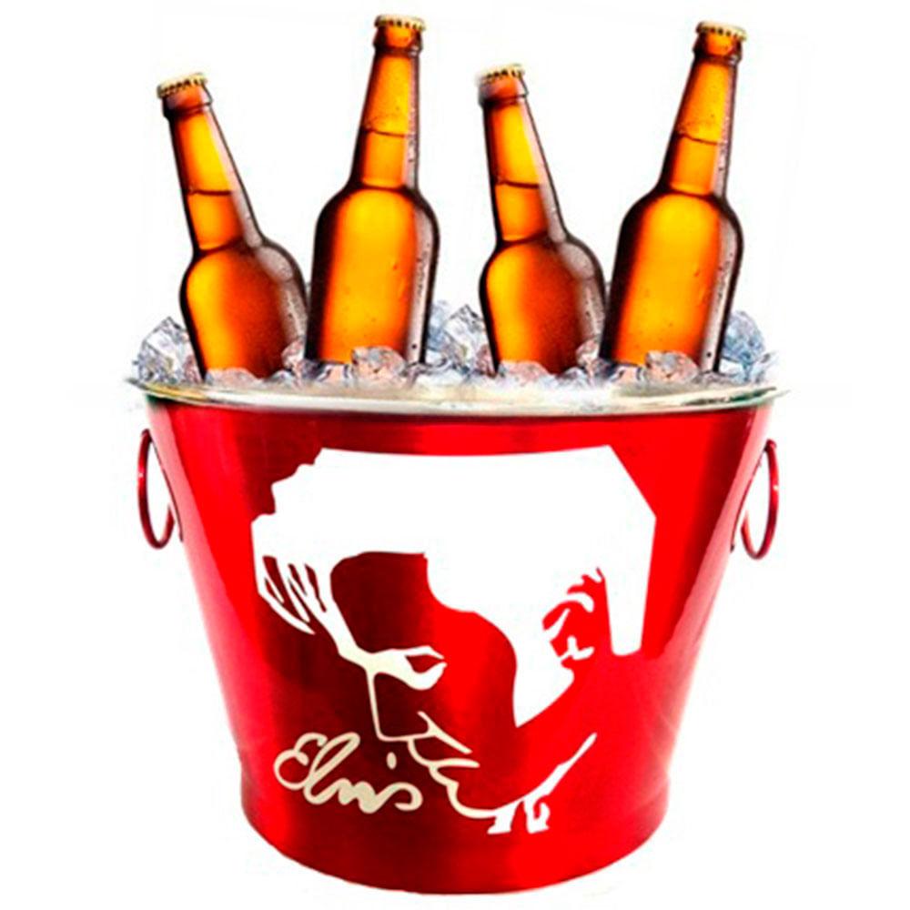 Fabuloso Balde De Cerveja Elvis Red 7,5l - 3608 - versareanosdourados BS63