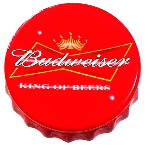 Tampa-Decorativa-Budweiser-Vintage