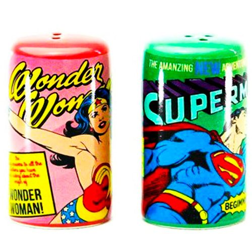 Conjunto-Saleiro-E-Pimenteiro-Porcelana-Super-Homem-E-Mulher-Maravilha