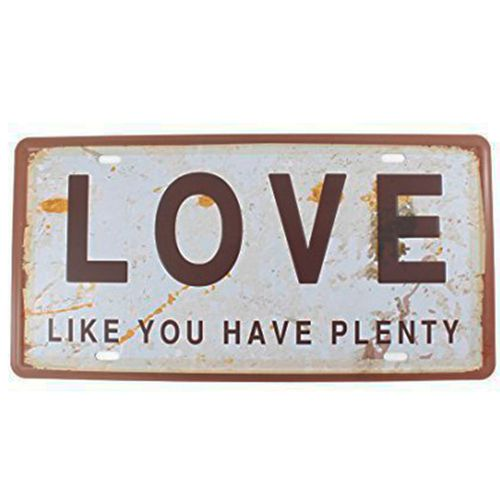 Placa-Carro-Decorativa-De-Metal-Love