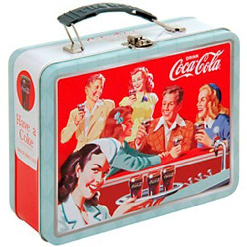 Lancheira-De-Metal-Quadrada-Com-Alca-Coca-Cola-Retro