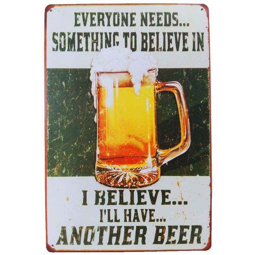 Placa-De-Metal-Decorativa-I-Believe-Beer