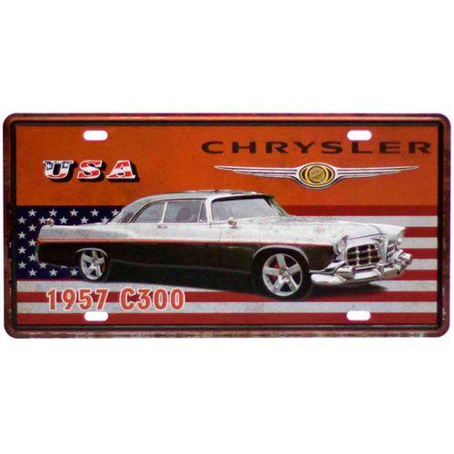 Placa-De-Carro-Decorativa-Em-Alto-Relevo-Chrysler
