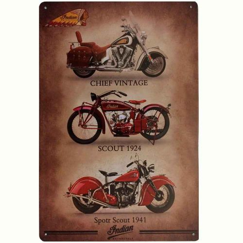 Placa-De-Metal-Decorativa-Indian