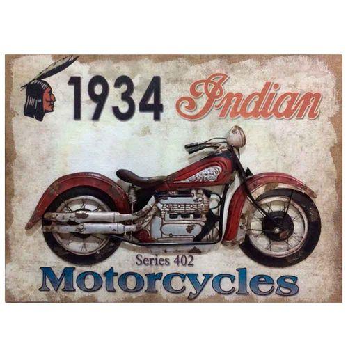 Quadro-Alto-Relevo-Indian-Motorcycle-Serie-402-1934