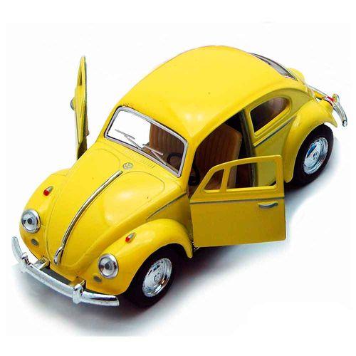 Miniatura-Fusca-1967-Escala-1-32-Amarelo