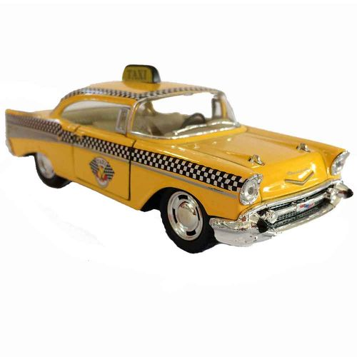 Miniatura-Chevy-Bel-Air-1957-Escala-1-32-Taxi