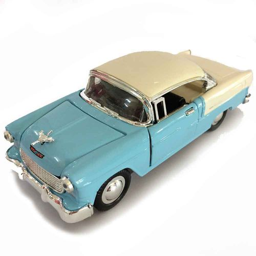Miniatura-Chevy-Bel-Air-1957-Escala-1-32-Azul