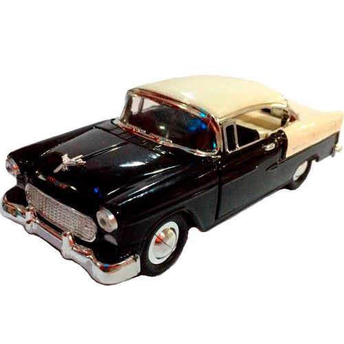 Miniatura-Chevy-Bel-Air-1957-Escala-1-32-Preto