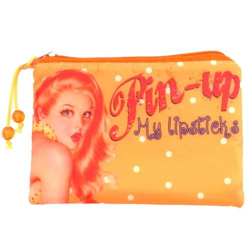 Necessaire-Pin-Up-Laranja