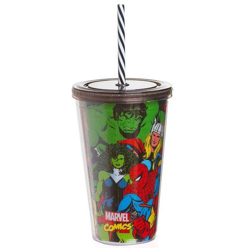 Copo-Canudo-Marvel-Avengers-Preto