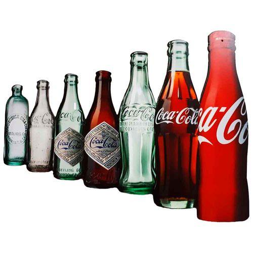 Placa-Decorativa-Mdf-Coca-Cola-Bottle-Evolution-Recorte