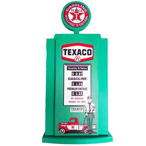 Porta-Chaves-Bomba-De-Combustivel-Verde-Texaco