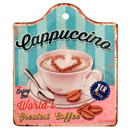 Quadro-Retro-Cappuccino-Porcelana