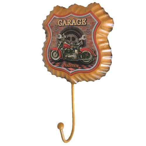 Gancho-De-Parede-Rota-66-Garage-Amarelo