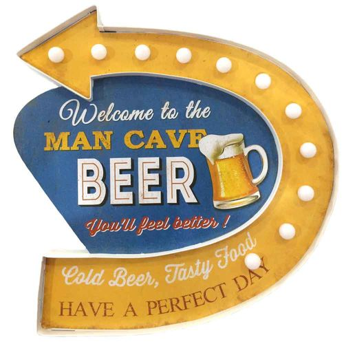 Placa-Luminosa-A-Pilha-Retro-Welcome-To-The-Man-Cave-Beer