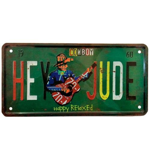 Placa-De-Metal-Decorativa-Hey-Jude