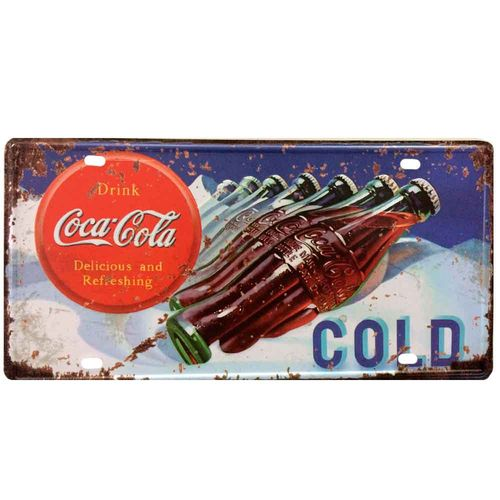 Placa-De-Metal-Decorativa-Coca-Cola-Cold