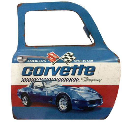 Porta-De-Carro-Decorativa-Corvette
