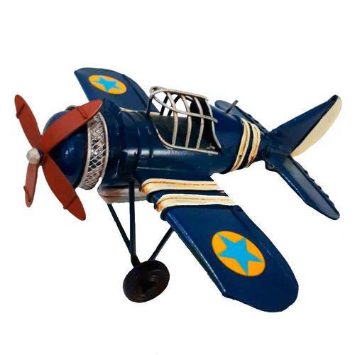 Miniatura-Aviao-Estrela-9660-Azul