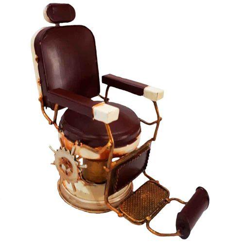 Miniatura-Cadeira-De-Barbeiro-Marrom