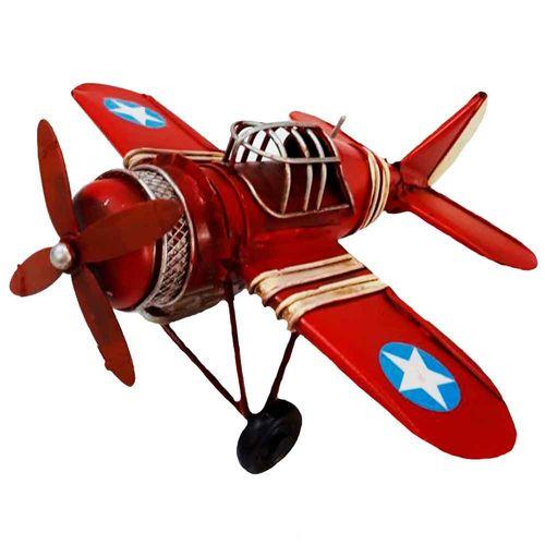 Miniatura-Aviao-Estrela-9660-Vermelho