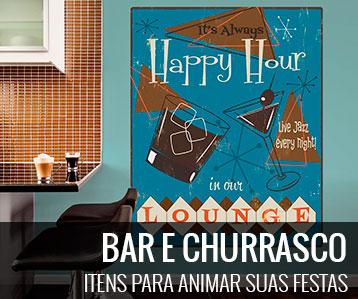 BAR E CHURRASCO