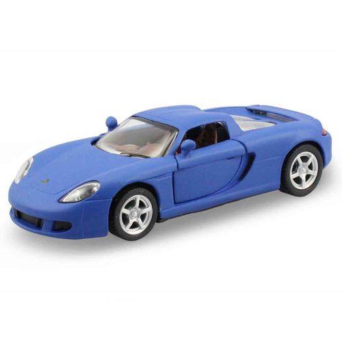 Miniatura-Porsche-Carrera-Gt-Escala-1-36-Azul