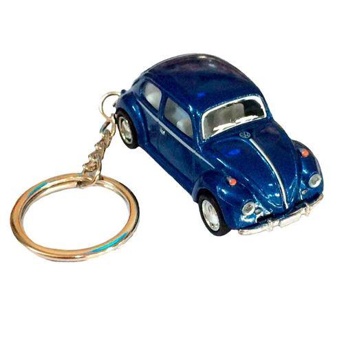 Chaveiro-Miniatura-1967-Volkswagen-Fusca-Escala-1-64-Azul