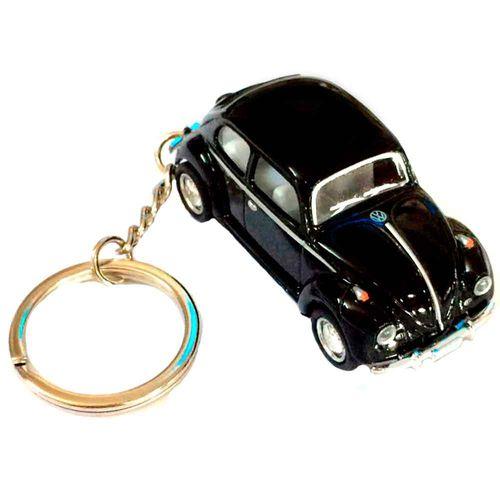 Chaveiro-Miniatura-1967-Volkswagen-Fusca-Escala-1-64-Verde