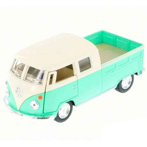 miniatura-1963-volkswagen-kombi-pickup-cabine-dupla-verde-pastel-cod-541901
