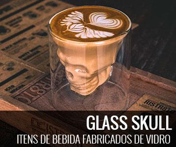 glass skull -
