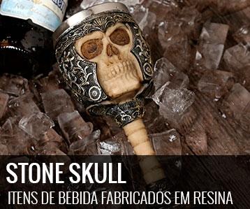 stone skull -