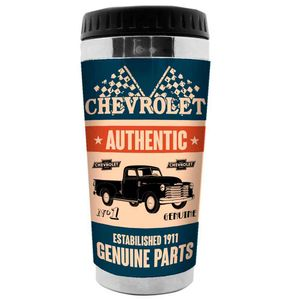 Copo-Termico-Genuine-Parts-Chevrolet-Retro----------------------------------------------------------