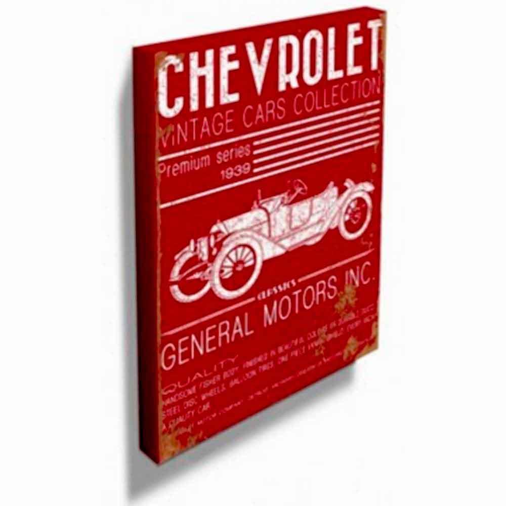Quadro-Tela-Calhambeque-Vintage-Chevrolet-Retro-----------------------------------------------------