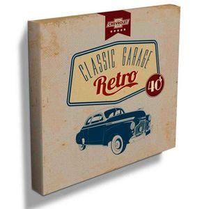 Quadro-Tela-Deluxe-Anos-40-Chevrolet-Retro----------------------------------------------------------