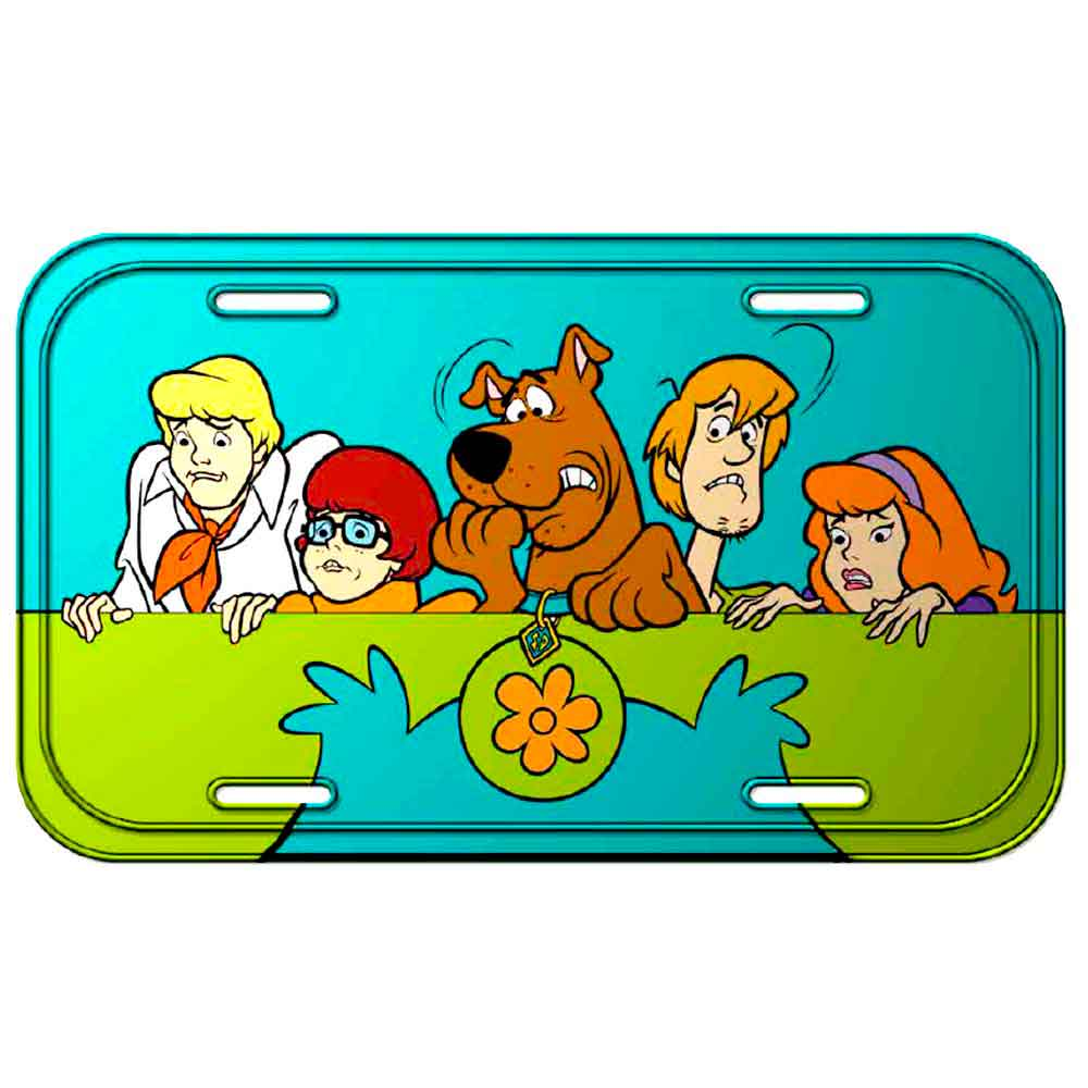 Placa-Metal-Scooby-Doo------------------------------------------------------------------------------