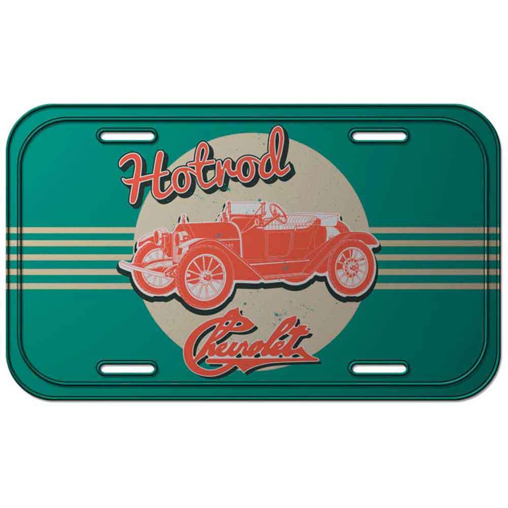 Placa-de-Metal-Hotrod-Chevrolet-Retro---------------------------------------------------------------