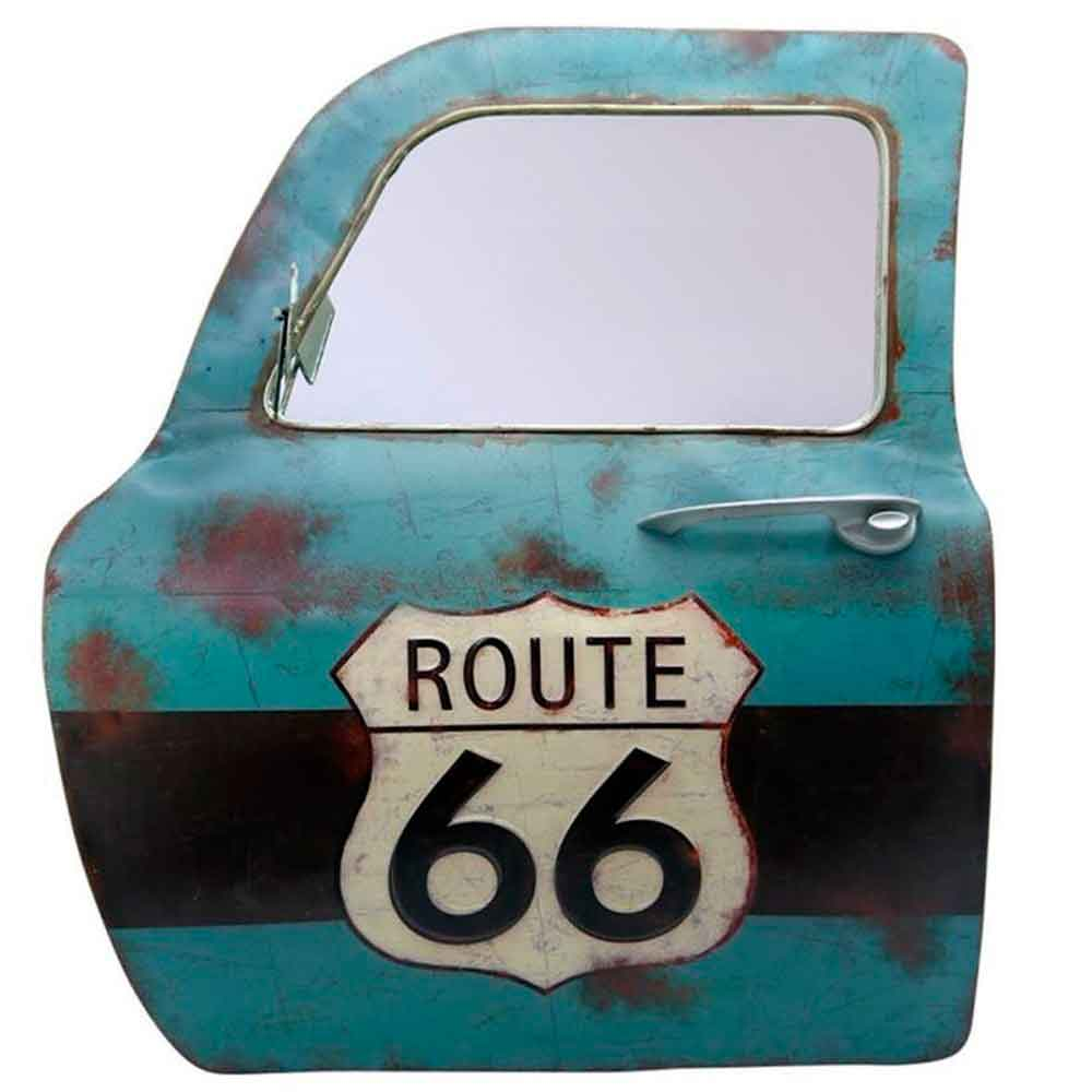 Porta-de-Carro-Decorativa-Route-66------------------------------------------------------------------
