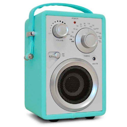 Radio-Speaker-Nostalgia-Azul------------------------------------------------------------------------
