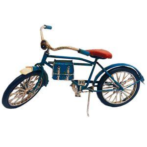 Miniatura-Bicicleta-Azul-com-Bolsa-de-Couro---------------------------------------------------------