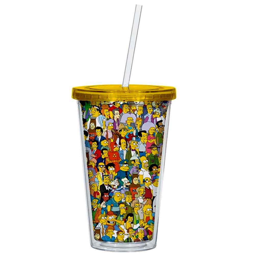 Copo-Canudo-Springfield-Os-Simpsons-----------------------------------------------------------------