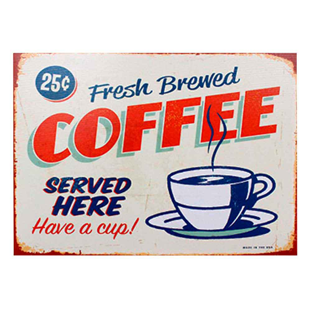 Quadro-Tela-Fresh-Brewed-Coffee---------------------------------------------------------------------
